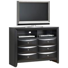 Glory Furniture Marilla G1500-TV2 Media Chest, Cherry