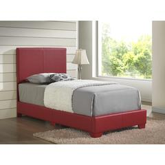 Glory Furniture Aaron G1825-TB-UP Twin Bed, Red