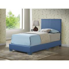 Glory Furniture Aaron G1835-TB-UP Twin Bed, Blue