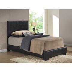 Glory Furniture Aaron G1850-TB-UP Twin Bed, Black