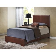 Glory Furniture Aaron G1855-TB-UP Twin Bed, Brown