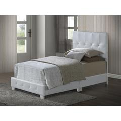 Glory Furniture Nicole G2577-TB-UP Twin Bed, White