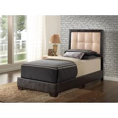 Glory Furniture Panello G2588-TB-UP Twin Bed, Cappuccino