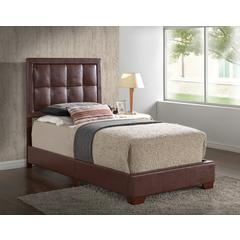 Glory Furniture Panello G2596-TB-UP Twin Bed, Brown
