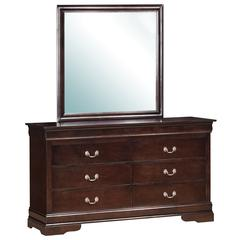 Glory Furniture Louis Phillipe G3125-D Dresser, Cappuccino