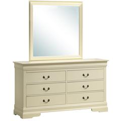 Glory Furniture Louis Phillipe G3175-D Dresser, Beige