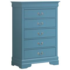 Glory Furniture Louis Phillipe G3180-CH Chest, Blue