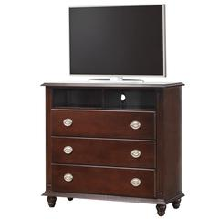 Glory Furniture Summit G5950-TV Media Chest, Cappuccino