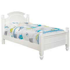 Glory Furniture Summit G5975A-TB Twin Bed, White