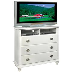 Glory Furniture Summit G5975-TV Media Chest, White