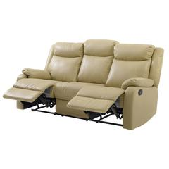Glory Furniture Ward G764A-RS Double Reclining Sofa, Putty