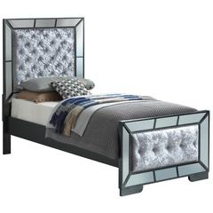 Glory Furniture Hollywood Hills G8150A-TB Twin Bed, Charcoal
