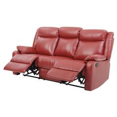 Glory Furniture Ward G765A-RS Double Reclining Sofa, Red