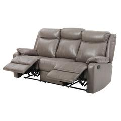 Glory Furniture Ward G763A-RS Double Reclining Sofa, Gray