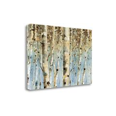 """""""White Forest"""" By Lisa Audit, Fine Art Giclee Print on Gallery Wrap Canvas, Ready to Hang"""