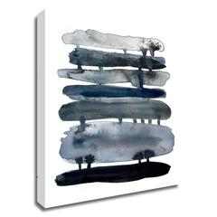 Indigo Drips by Kelly Witmer, Print on Canvas, Ready to Hang
