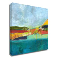 View across the Bay by Jan Weiss, Print on Canvas, Ready to Hang