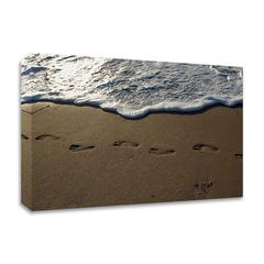 Footprints by Lynda White, Print on Canvas, Ready to Hang