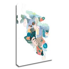 """Papers No. 50 by Erin McClusky Wheeler , Print on Canvas, 30"""" x 45"""", Ready to Hang"""