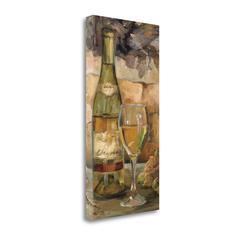 """Le Cour De Le Chateau II"" By Marilyn Hageman, Giclee on Gallery Wrap Canvas"
