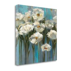 """""""Anemones"""" By The Lake, Fine Art Giclee Print on Gallery Wrap Canvas, Ready to Hang"""