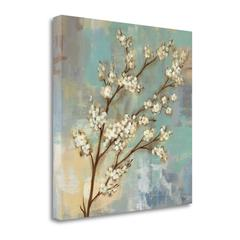 """""""Kyoto Blossoms I"""" By Silvia Vassileva, Fine Art Giclee Print on Gallery Wrap Canvas, Ready to Hang"""