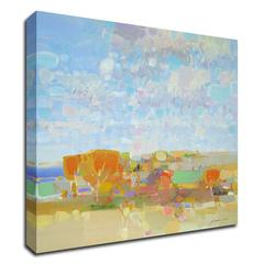 """Autumn Colors by Vahe Yeremyan , Print on Canvas, 24"""" x 22"""", Ready to Hang"""