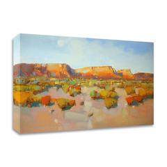 """Canyon View by Vahe Yeremyan , Print on Canvas, 24"""" x 16"""", Ready to Hang"""