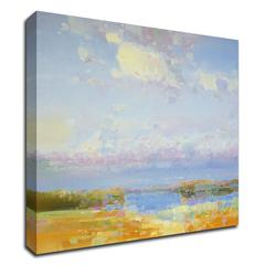 """Delight of Morning by Vahe Yeremyan , Print on Canvas, 18"""" x 21"""", Ready to Hang"""