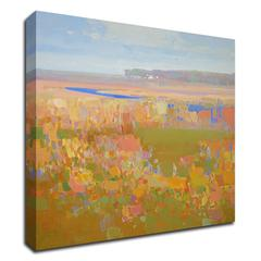 """Fall by Vahe Yeremyan , Print on Canvas, 18"""" x 21"""", Ready to Hang"""