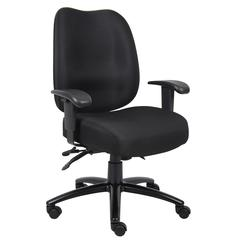 Aaria Collection Dido Multi-Function 3 Paddle  Task Chair / Black