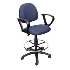 Boss Drafting Stool (B315-Be) W/Footring And Loop Arms