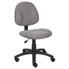 Boss Grey  Deluxe Posture Chair