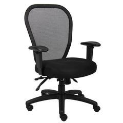 Boss Mesh Chair W/3 Paddle Mech