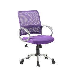 Boss Mesh Back W/ Pewter Finish Task Chair