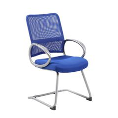 Boss Mesh Back W/ Pewter Finish Guest Chair