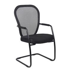 Boss Mesh Guest Chair W/ Black Sled Base