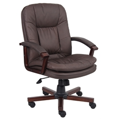 Versailles Cherry Wood Exec. Chair
