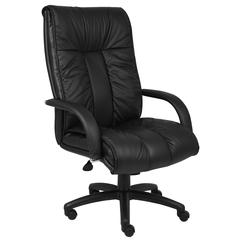 Boss Italian Leather High Back Executive Chair