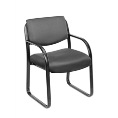 Boss Grey Fabric Guest Chair