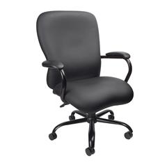 Boss Heavy Duty Caressoftplus Chair - 350 Lbs