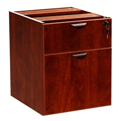 Boss 2 Hanging Pedstal - 3/4 Box/File , Mahogany