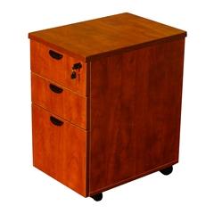 Boss Mobile Pedestal Box/Box/File,Honey Comb Packing, Cherry
