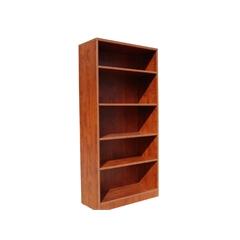 Boss Bookcase, 31W X14D X 65.5H Cherry