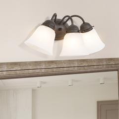 Three Light Vanity Frame