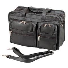 Stebco Premium Soft-Touch Cowhide Leather Briefcase