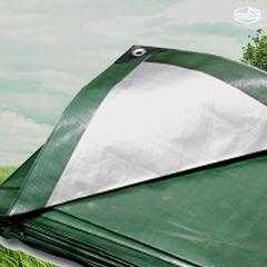 Green/Silver Heavy Duty Tarp 20X40