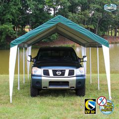 HERCULES 10X20 Canopy w/ GREEN/WHITE Cover