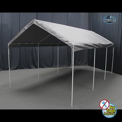 HERCULES 10X20 Canopy w/ SILVER Cover