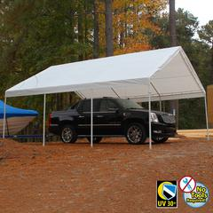HERCULES 18X20 Canopy w/ WHITE Cover